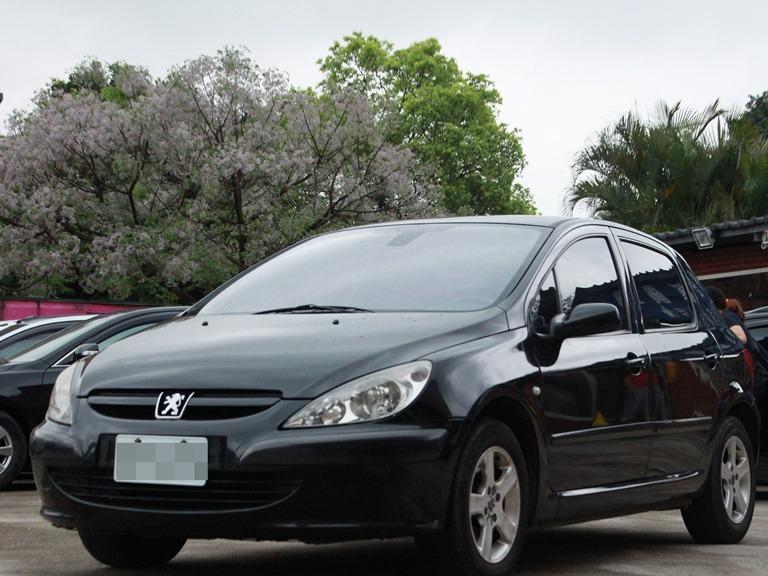 Peugeot 2004 307 1.6C可長期追蹤FB臉書:小馬遛車庫
