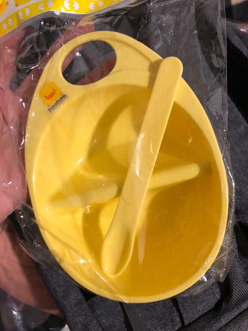 黃色小鴨PiyoPiyo-麥粥碗(黃)