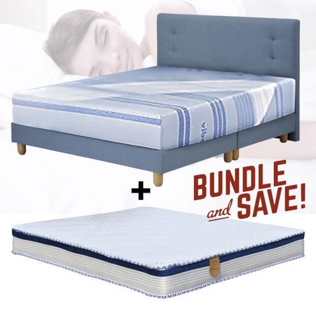 Queensize Bed Mattress Set Furniture, Queen Bed Mattress Set