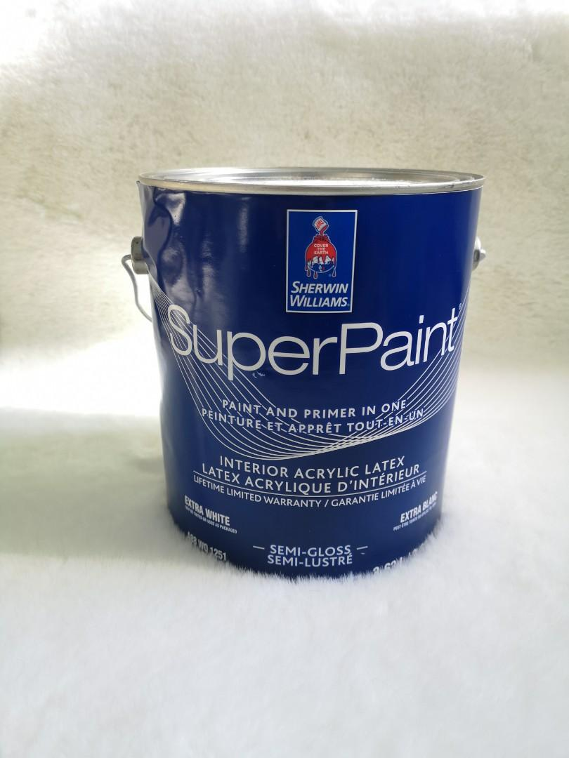 Sherwin Williams SuperPaint Pure White