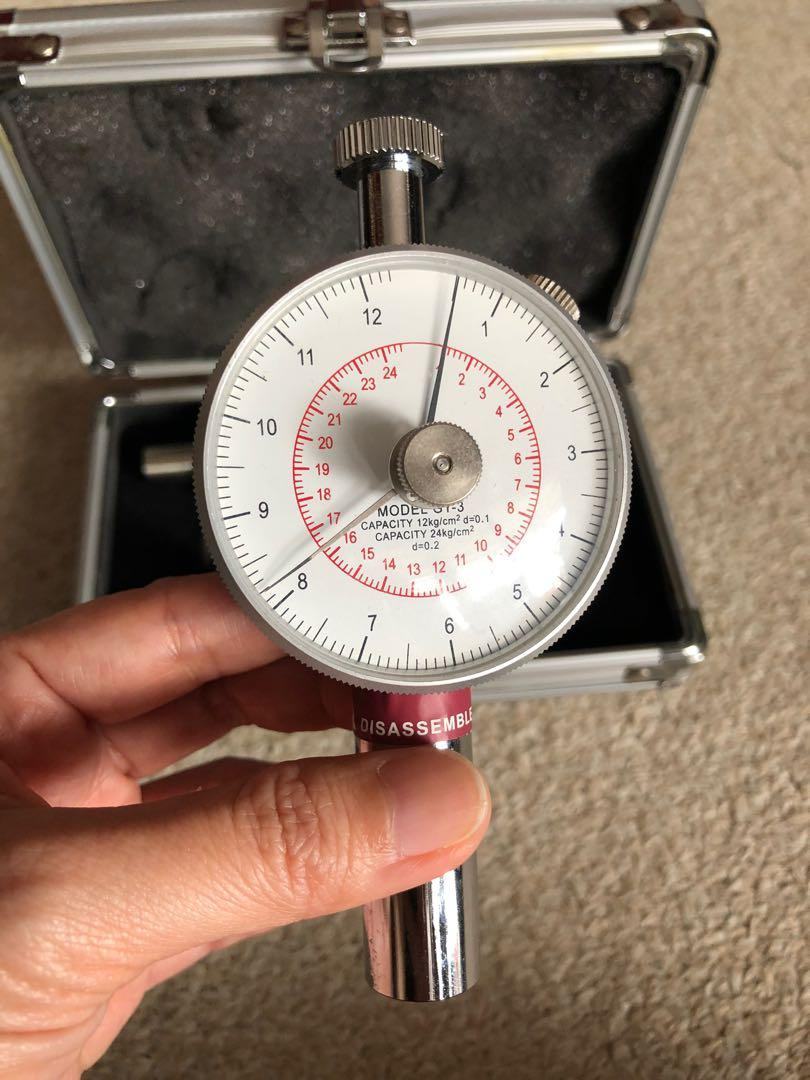 Show Range Fruit Penetrometer GY-3