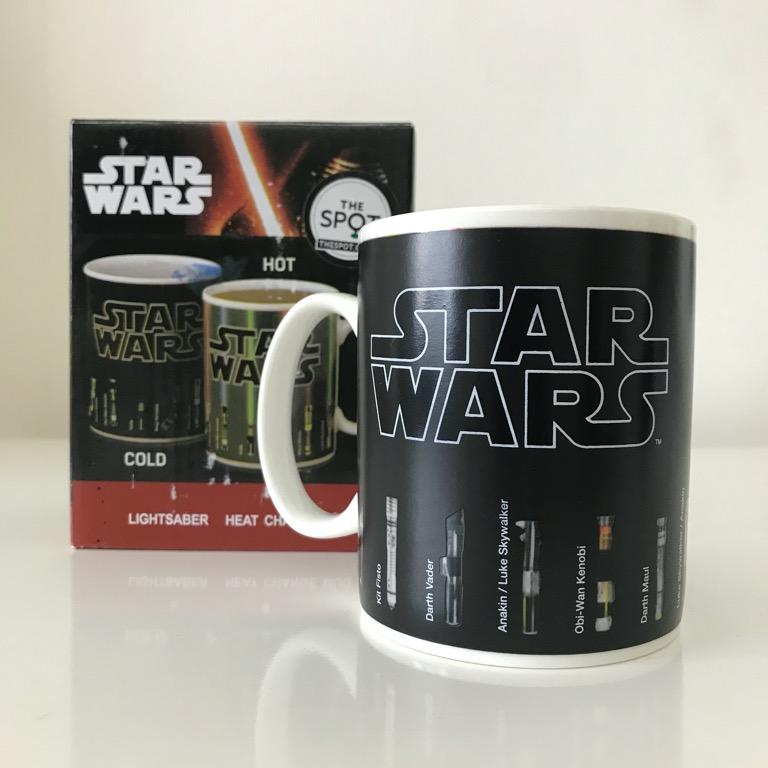 Star Wars Lightsaber Color Changing Mug