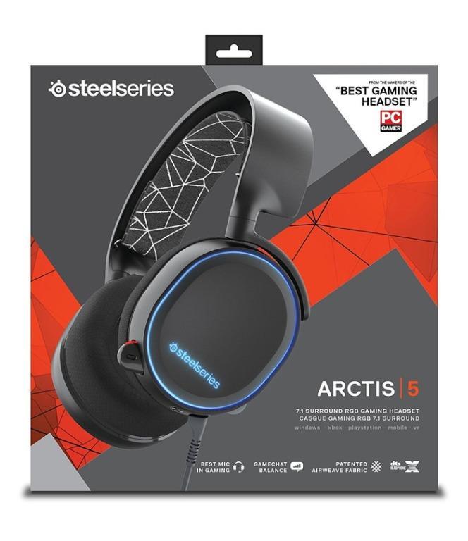 SteelSeries Arctis 5 Headset / earphone / headphone