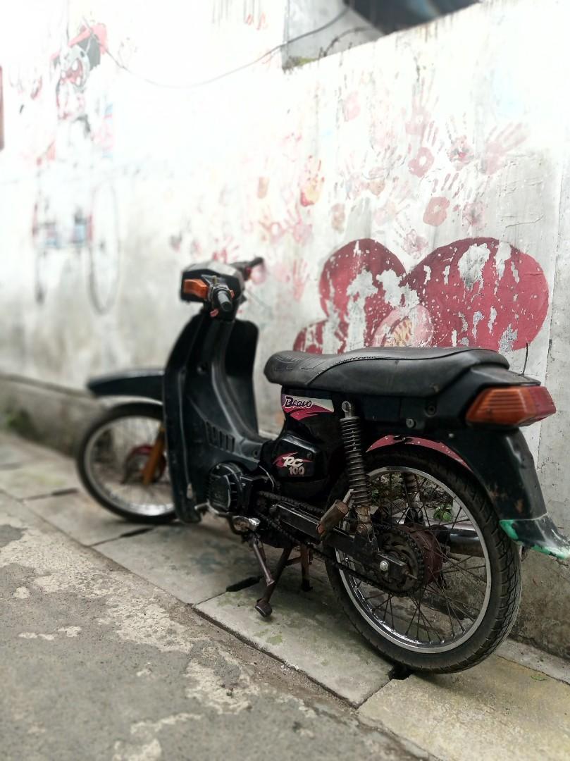 Suzuki rc 100 plat D