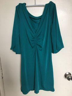 Tuquoise Short Party Dress