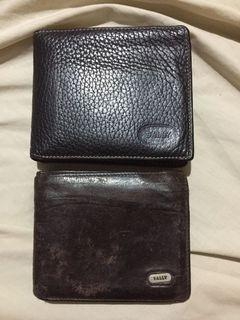 Vintage Bally Wallets (2 for 9,500)