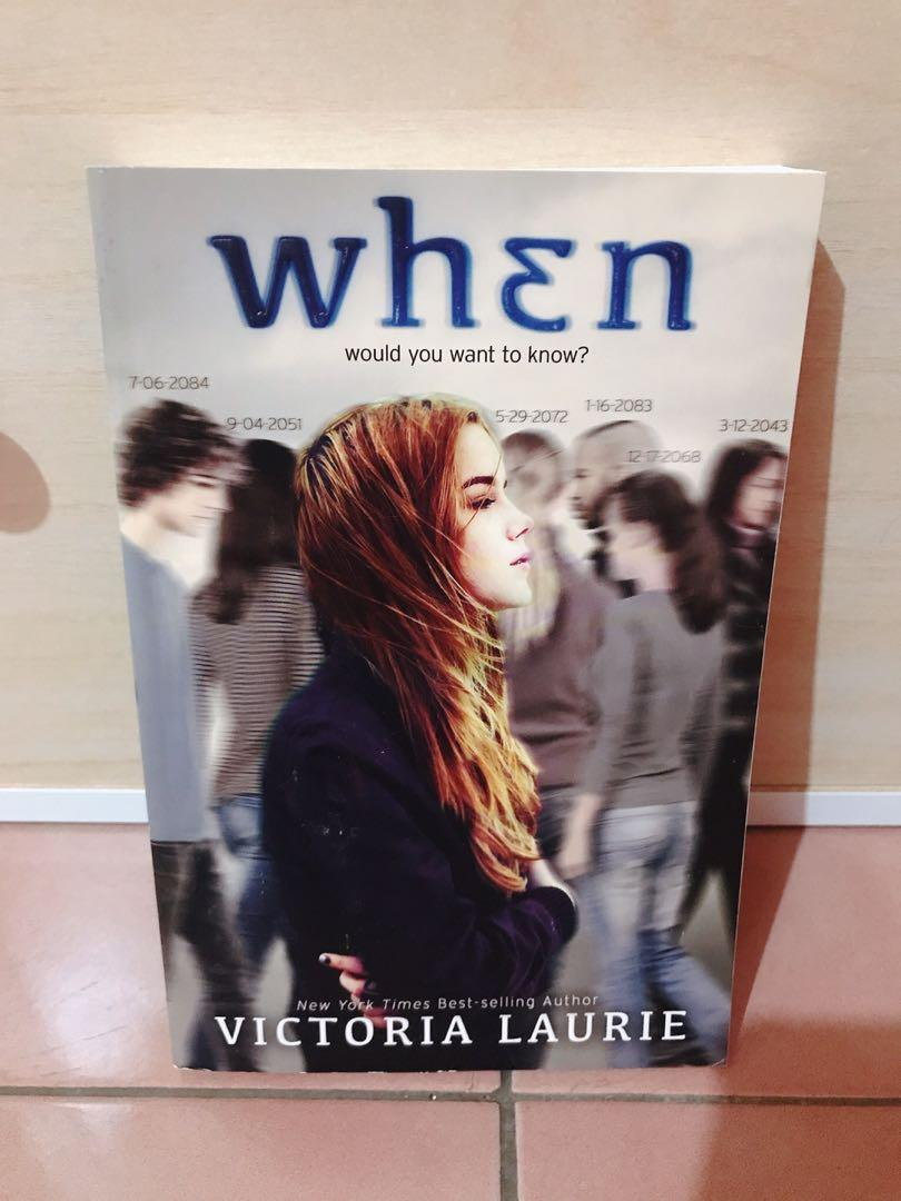 When Victoria Laurie 美國書籍