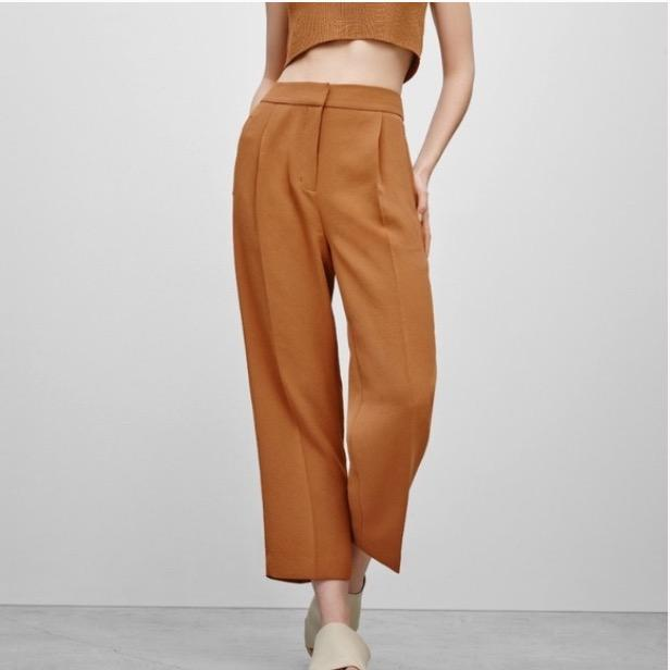 wilfred wide leg slouchy coulettes/trousers