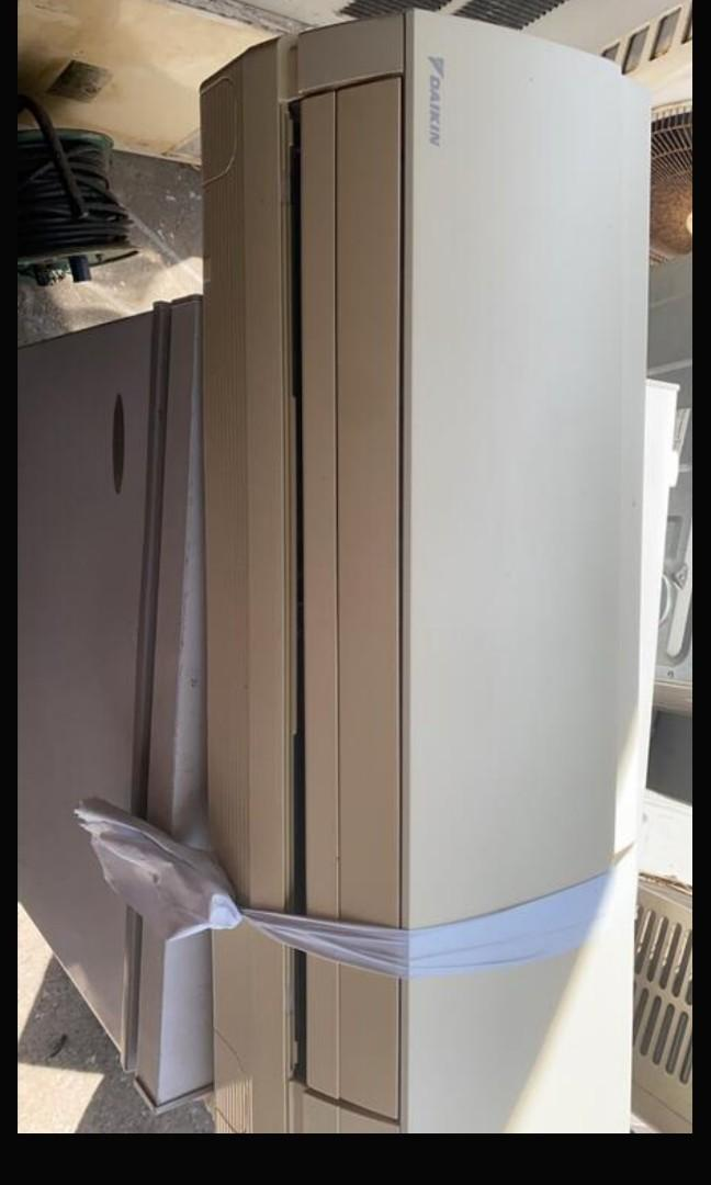 最後1台10/15前訂貨,特價降2500,專賣大金冷氣~二手中古大金1噸變頻冷暖分離式冷氣,外機型號RXS25DVMT