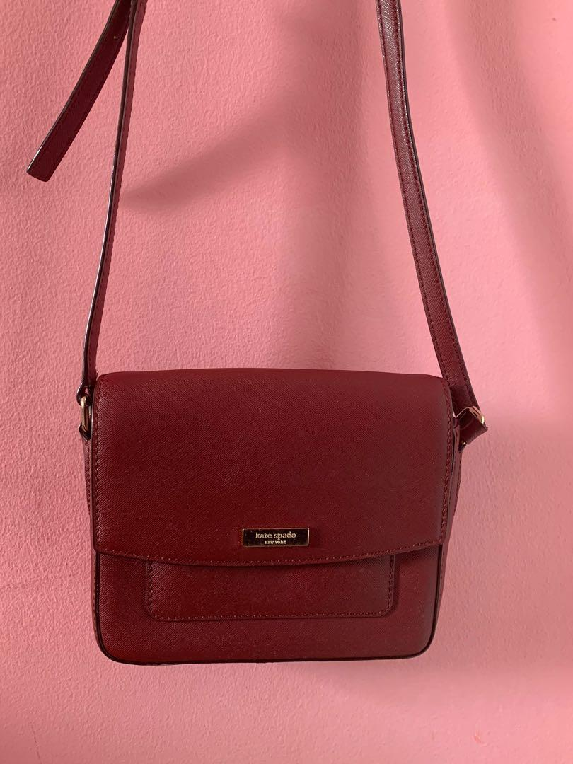 2015 Red Kate Spade Small Crossbody (Good Use Condition)