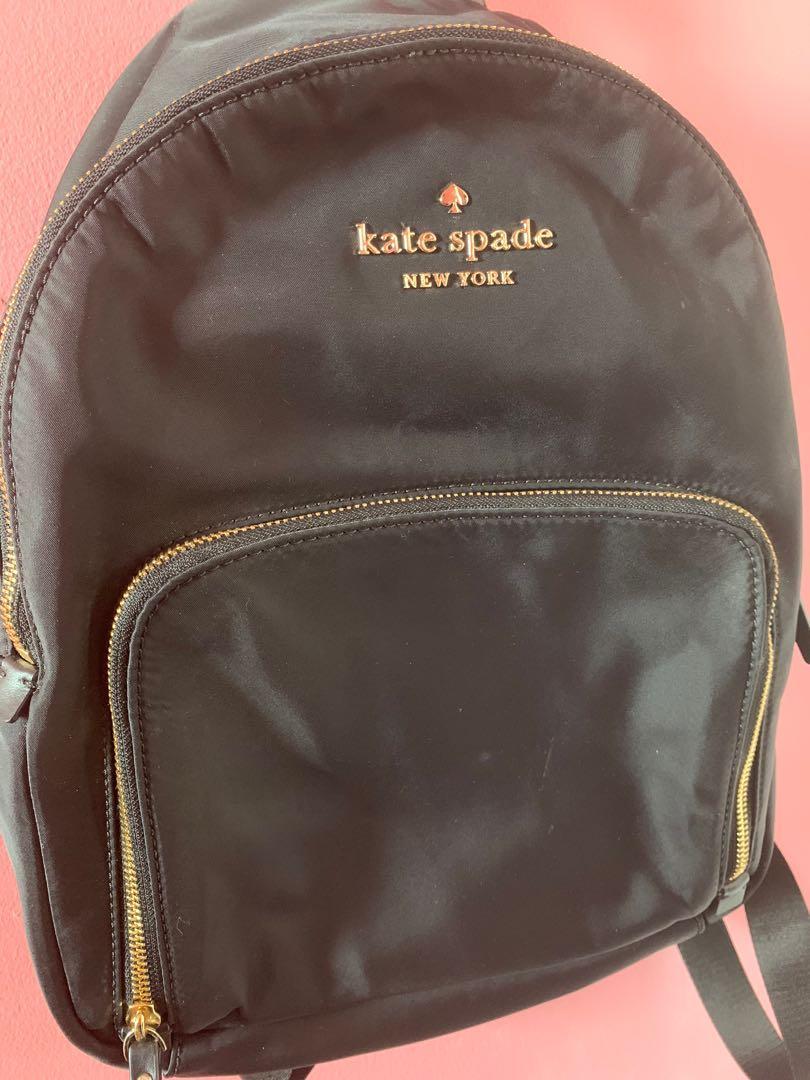 2017 Black Kate Spade Backpack (Watson Lane Hartley)