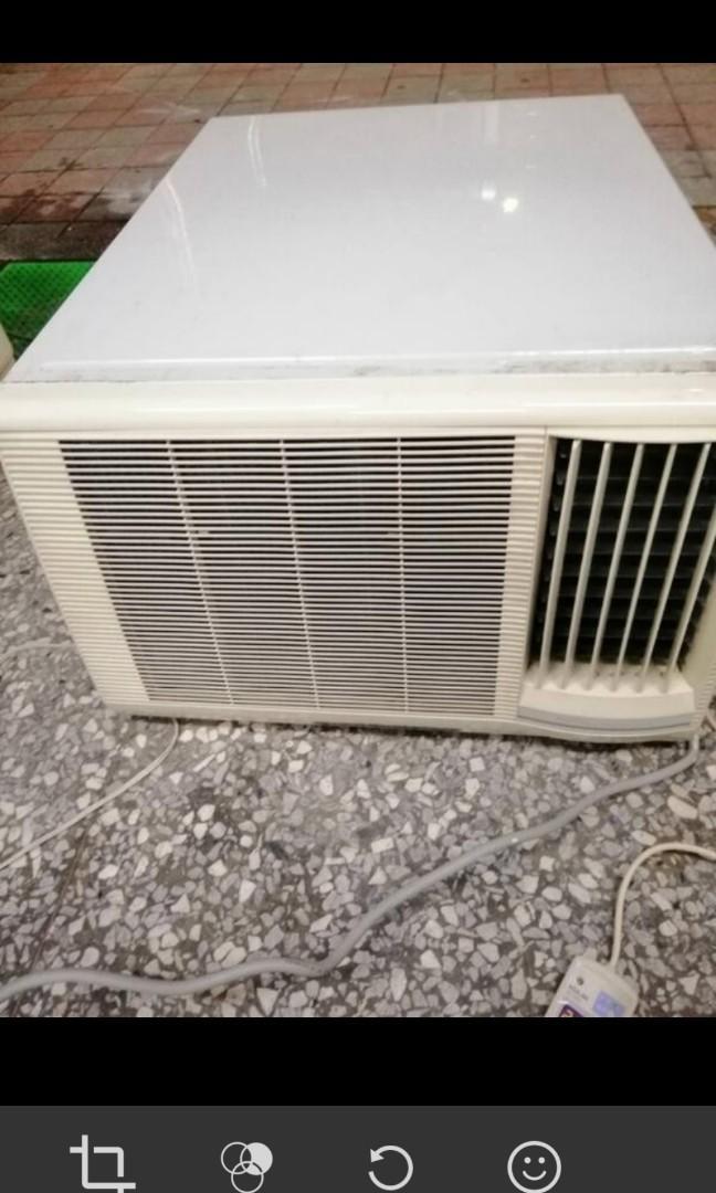 二手中古歌林2.5噸窗型冷氣,保固3個月,請加line帳號chin0290問大戶藥師