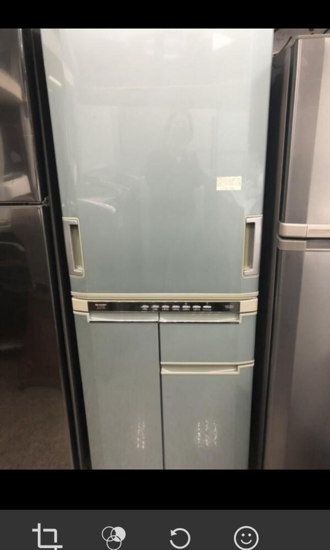 二手中古夏普420公升4門變頻冰箱,外表新,line帳號chin0290