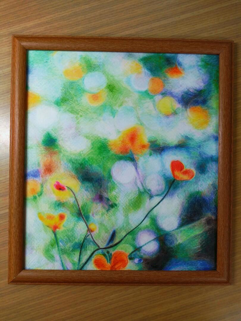 彩色鉛筆畫-你的心情是什麼形狀