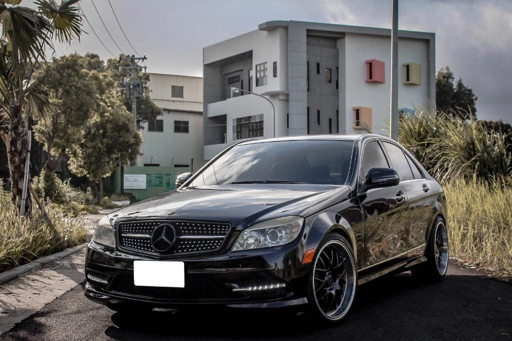 強力過件,免頭款,買車送好禮 2008年 賓士 W204 C300 3.0 AMG 精品改