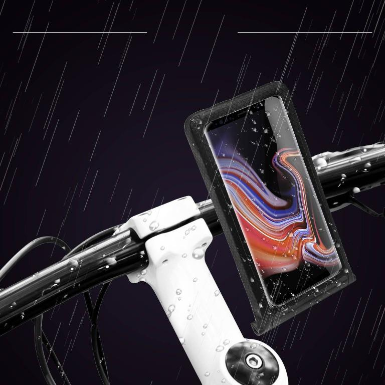 自行車手機防水支架包 騎行裝備導航防水支架配內托