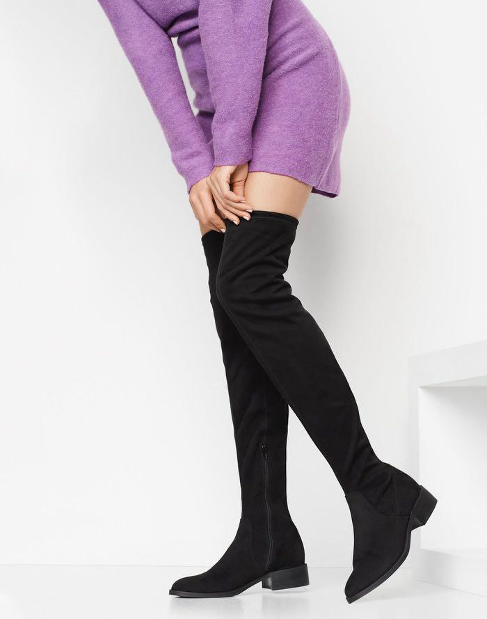ALDO flat, over the knee boots