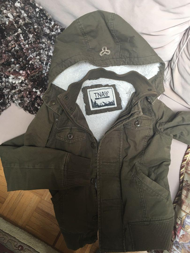 Aritzia Tna army jacket