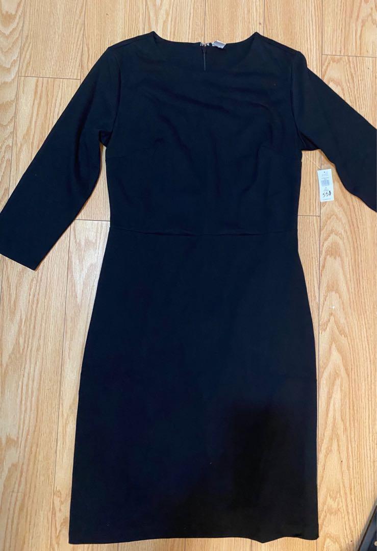 Black dress size m