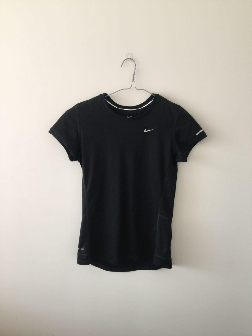 Black Nike dri-fit top