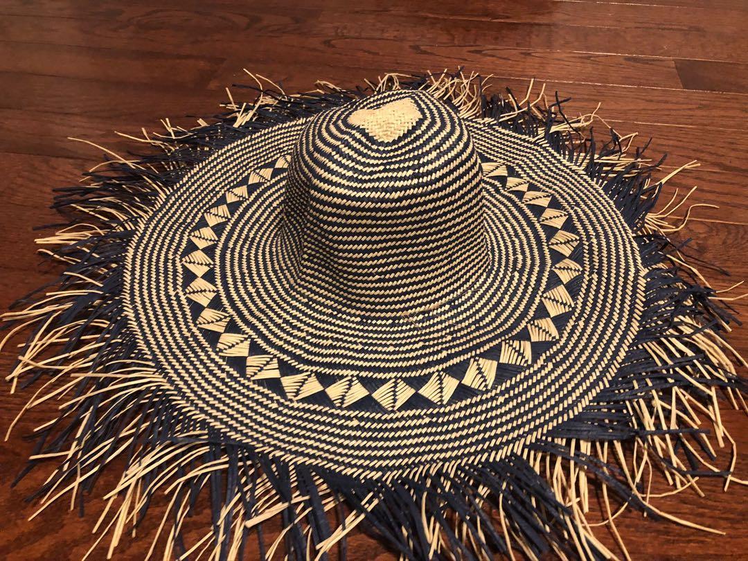 Brand new navy blue sun hat