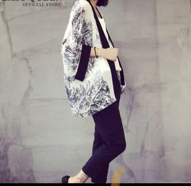 Brand new one size kimono cover up