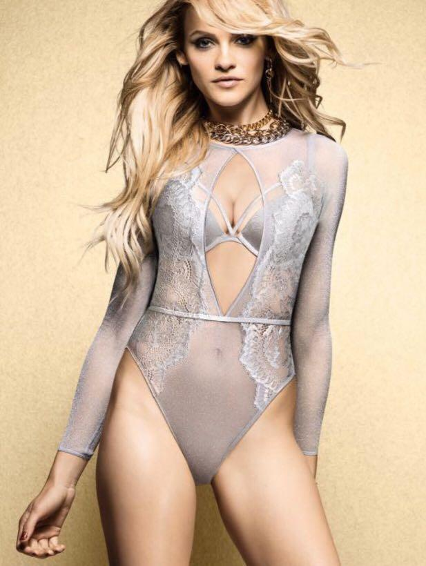 Brand new size small lace bodysuit