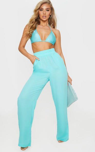 Brand new size small Tiffany blue pants