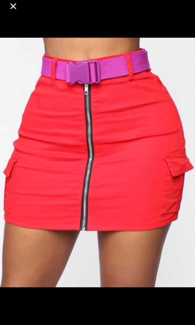 Brand new skirt size small with belt