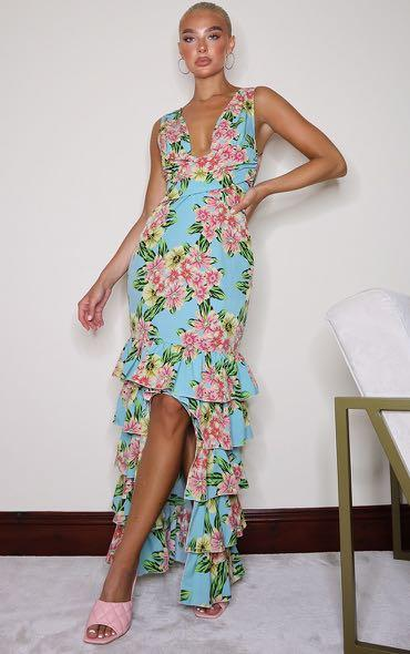 Brand new with tags size 4 ruffle gown