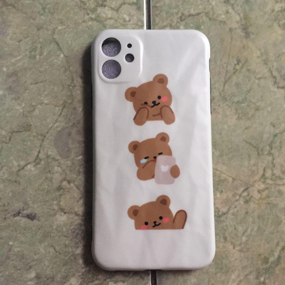 Case iPhone 11 (Cute Bear)