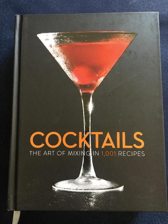 Cocktail recipes book - 700 pages