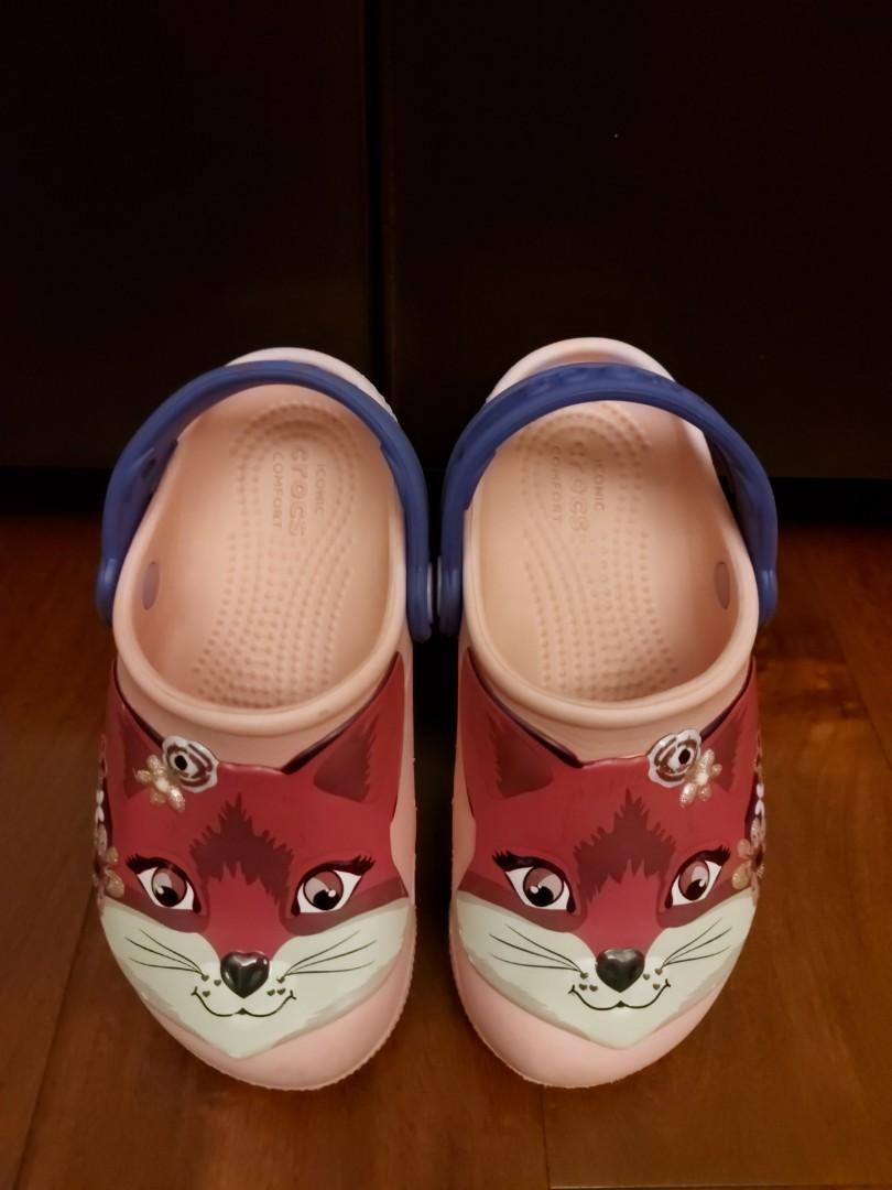 二手Crocs 女童鞋(10C)