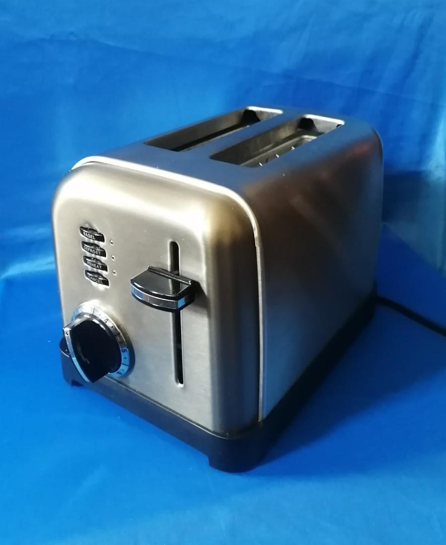 Cuisinart Stainless Steel Wide Slot Toaster