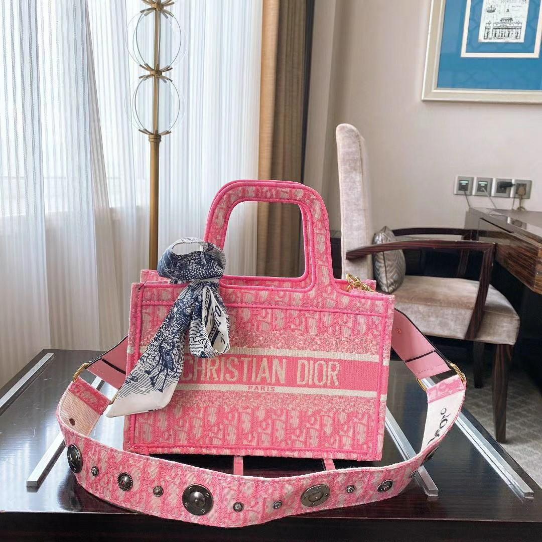 Dior pink fashion bag