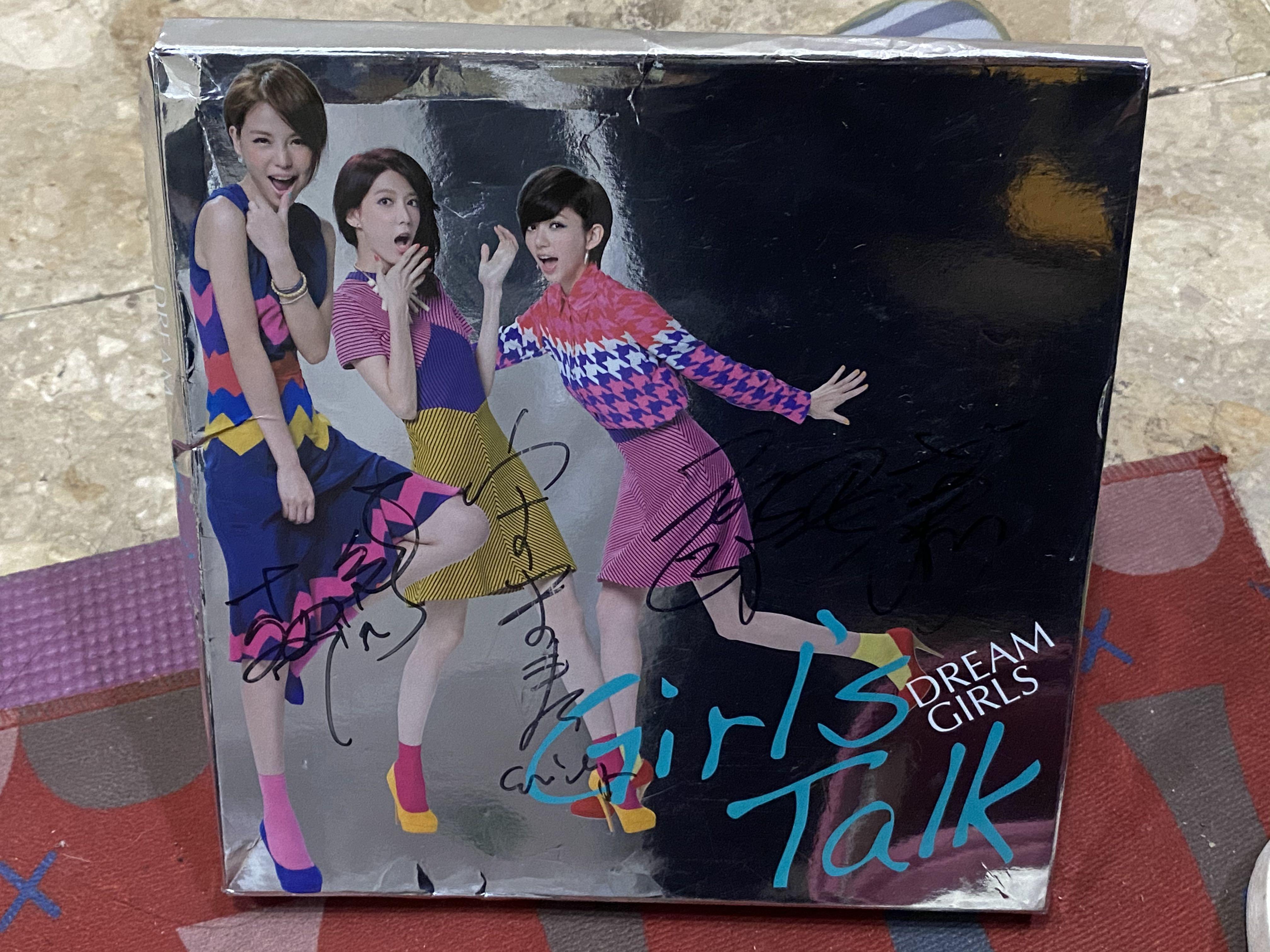 💜Dream Girls💜Girls Talk-3人親筆簽名CD