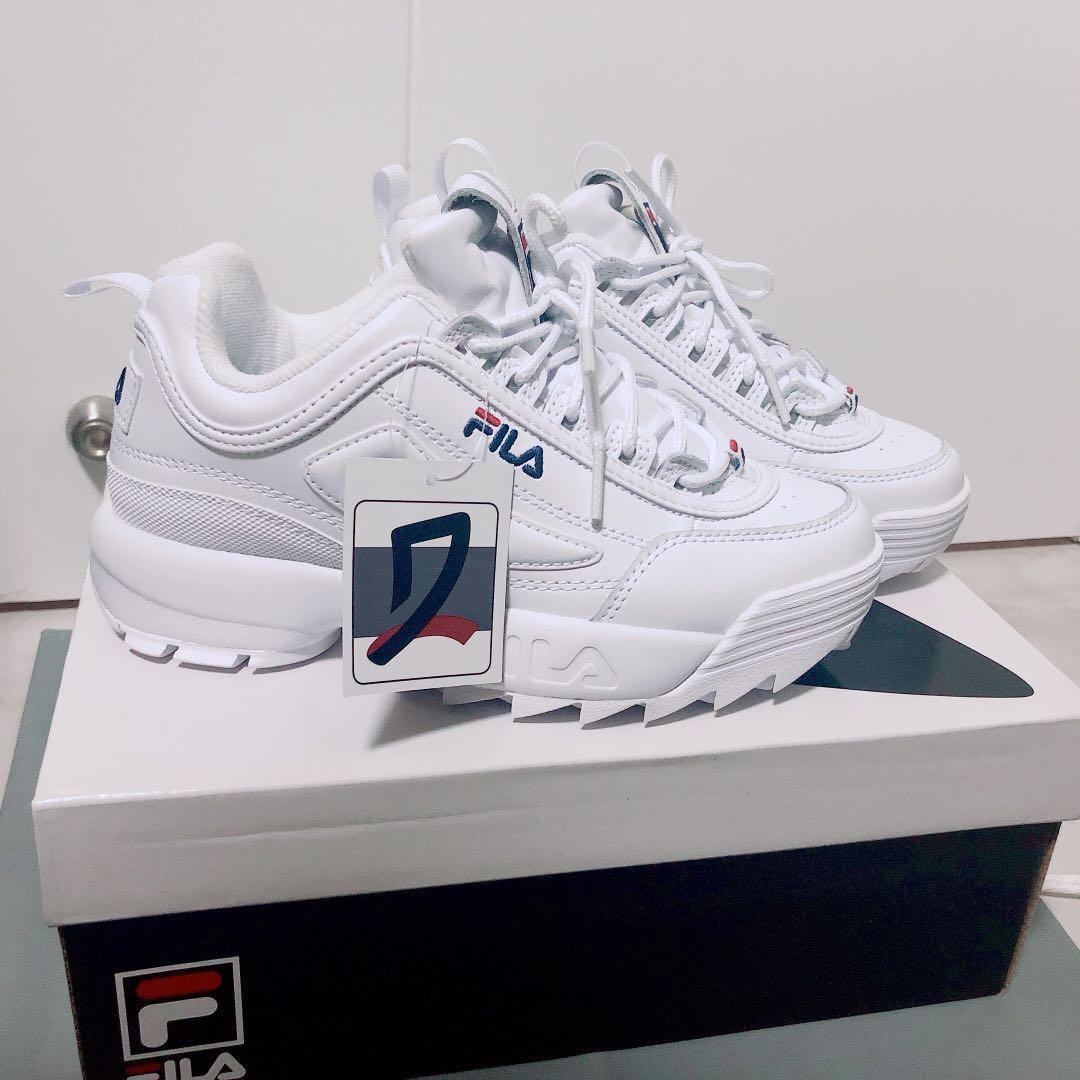 Fila Disruptor 2 Sneakers US6.5 37號