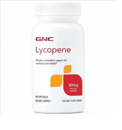 GNC Lycopene 前列腺番茄紅素抗氧化膠囊30mg [60粒], 嘢食& 嘢飲, 包裝食品- Carousell