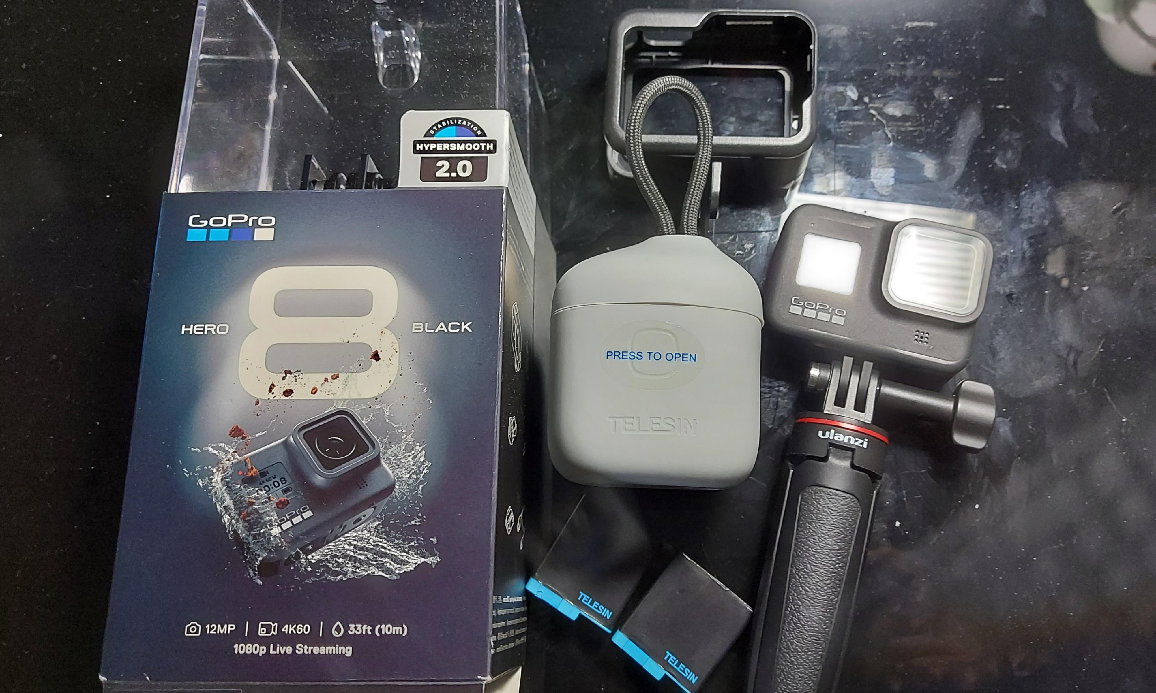 GoPro Hero 8 台灣公司貨 保固中 運動相機 攝影機 4k