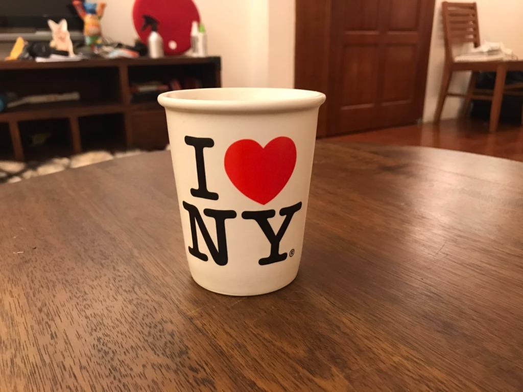 I Love New York 杯子 紐約帶回 #週慶