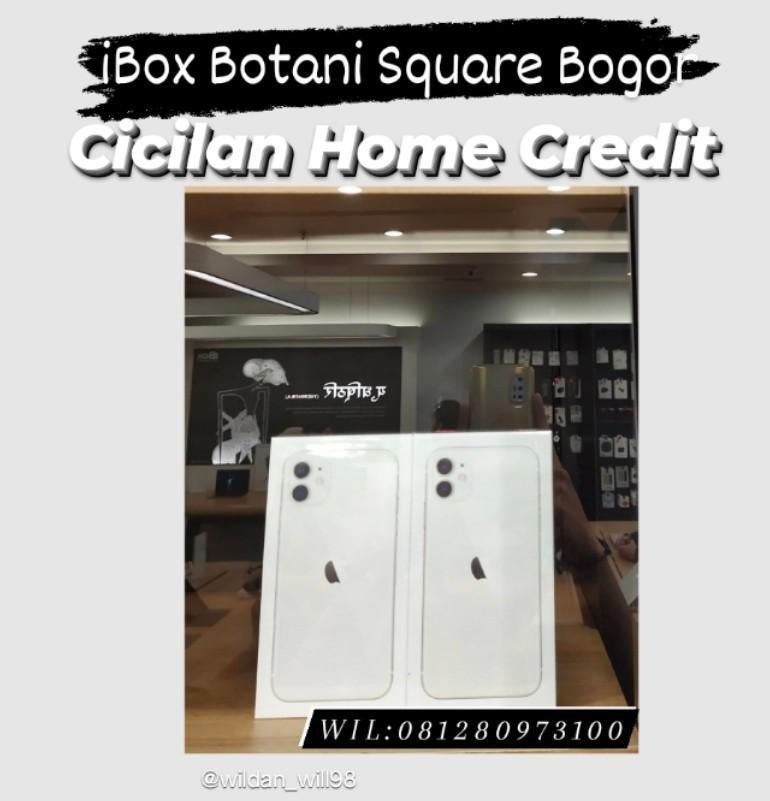 Kredit iPhone iBox Botani Square