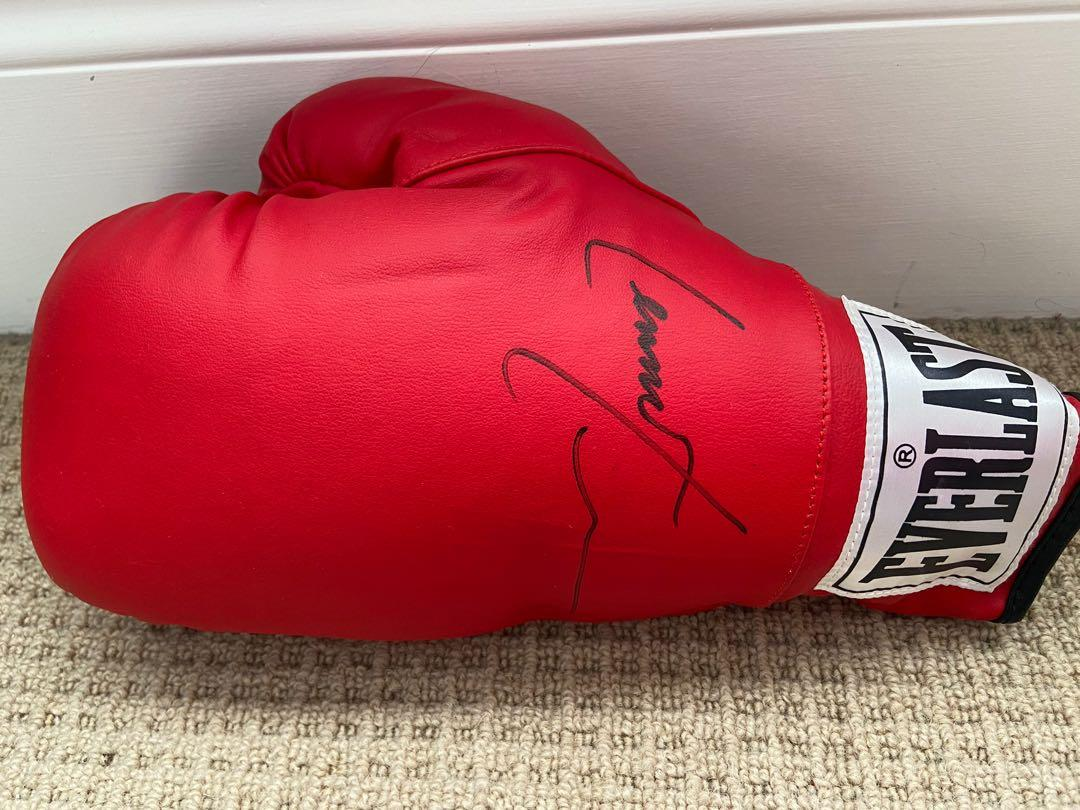 Lennox Lewis Autographed Everlast Boxing Glove