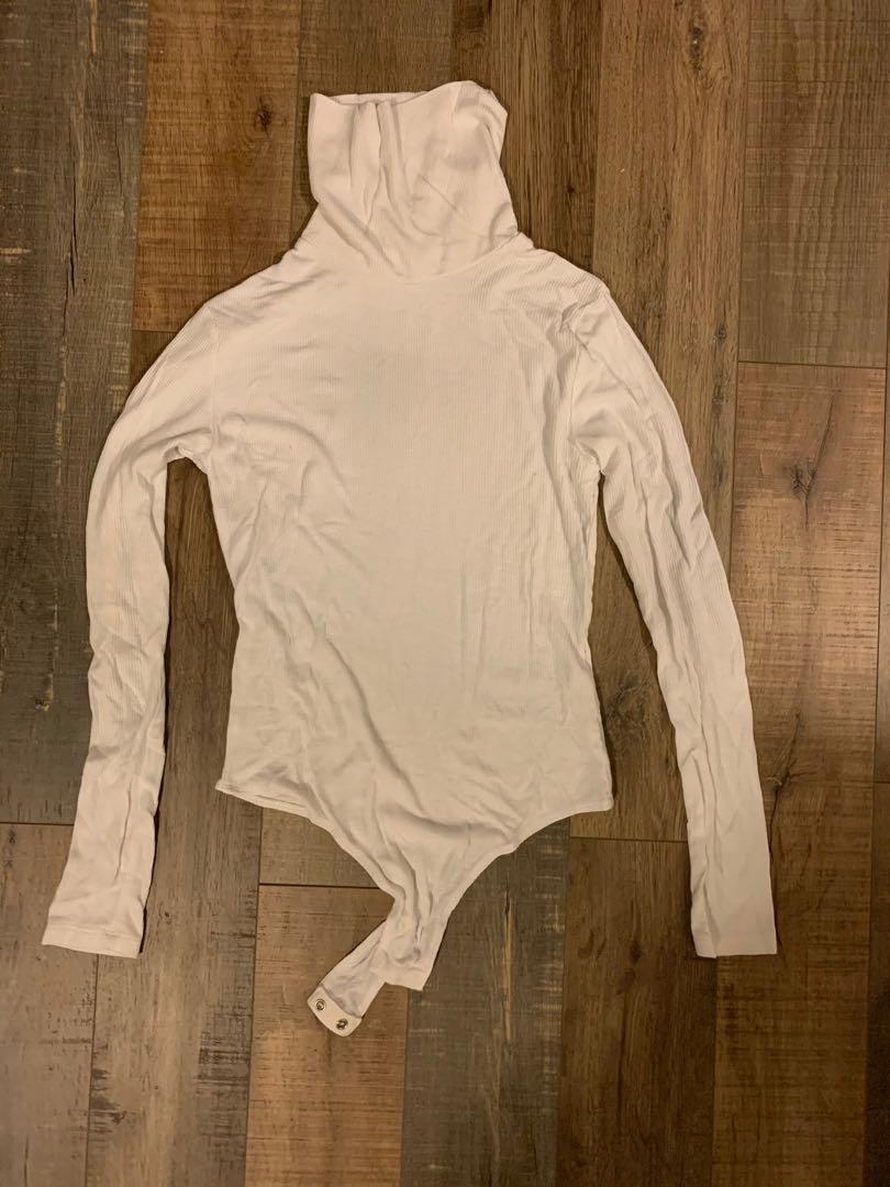 Long sleeve turtleneck bodysuit