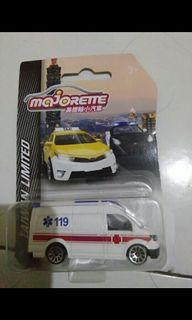 Majorette taiwan cars vw