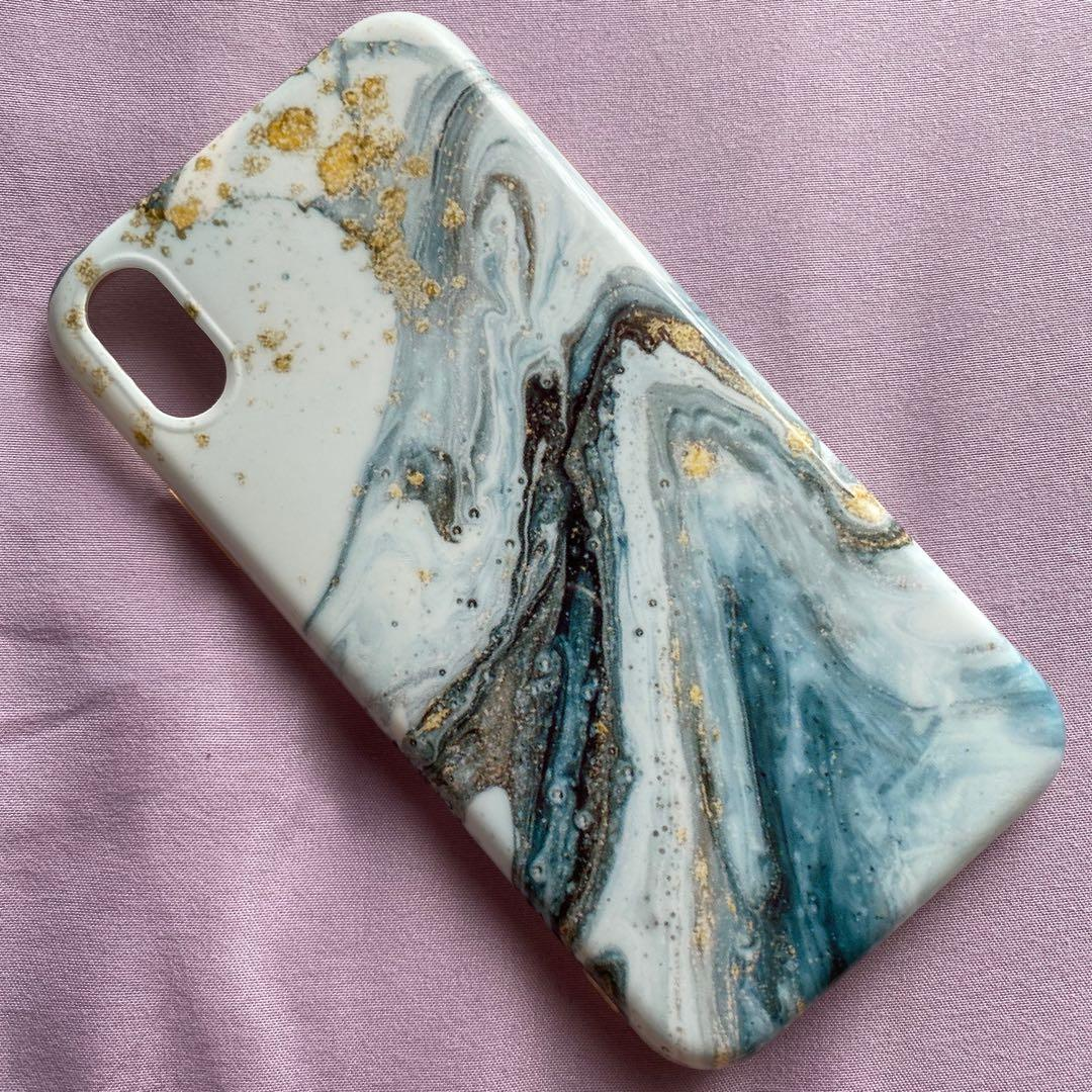Marble Case Iphone 10 R / XR