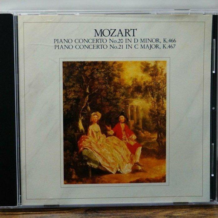 莫札特MOZART PIANO CONCERTO NO.20&21/日版CBS-SONY/CD/FINDINGMUSIC #二手價