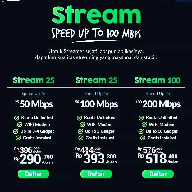 Oxygen home Internet cepat