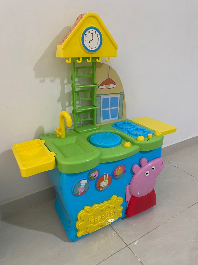 Peppa Pig Kitchen Babies Kids Toys Walkers On Carousell