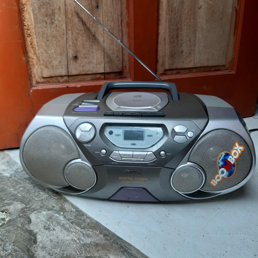 Philips Boombox Bisa Cd Tape Radio