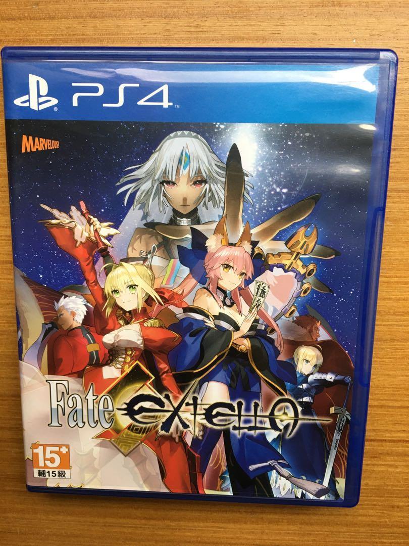 PS4 Fate/extella 中文版 命運長夜 光碟無刮 fate  extella
